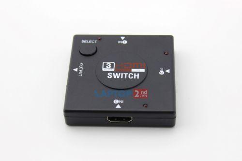 Bộ chia HDMI cao cấp (3 vào - 1 ra)